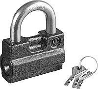 Навесной замок Зубр дисковый механизм секрета, ВС2-7 37220-7