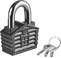 Навесной замок Зубр дисковый механизм секрета, ВС2-34 37220-34