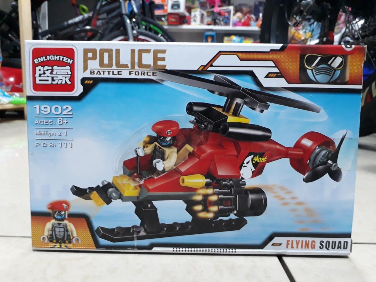 Конструктор Police Battle Force 1902 111 pcs