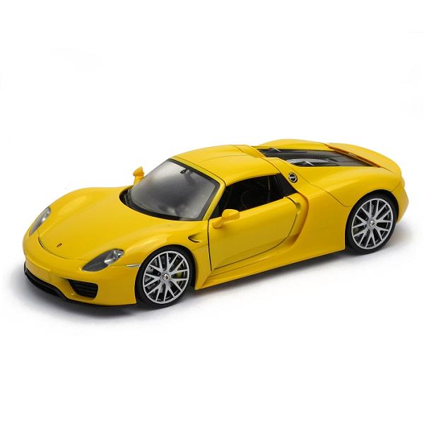 Игрушка модель машины 1:24 Porsche 918 Spyder
