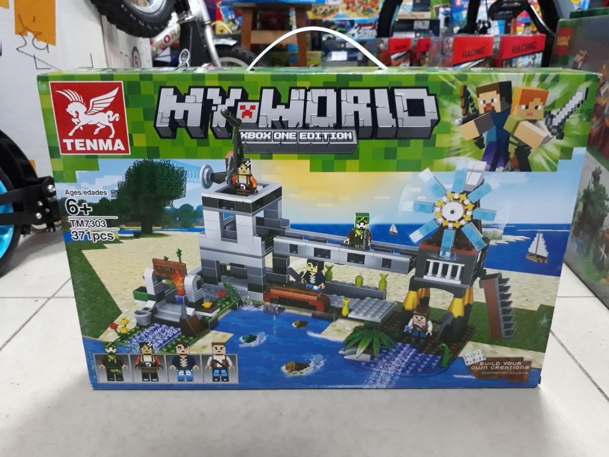 Конструктор Tenma My world TM7303 371 pcs. Minecraft. Майнкрафт