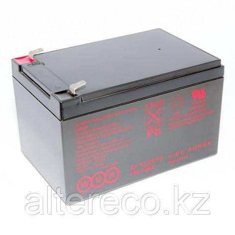 Аккумулятор WBR GP12120 F2 (12В, 12Ач), фото 2