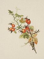 """Набор для вышивания крестом """"Осенний шиповник"""""""