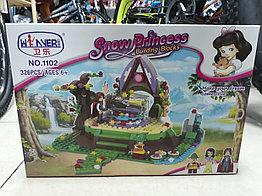 Конструктор Snow Princess 1102 326 pcs. Для девочек.