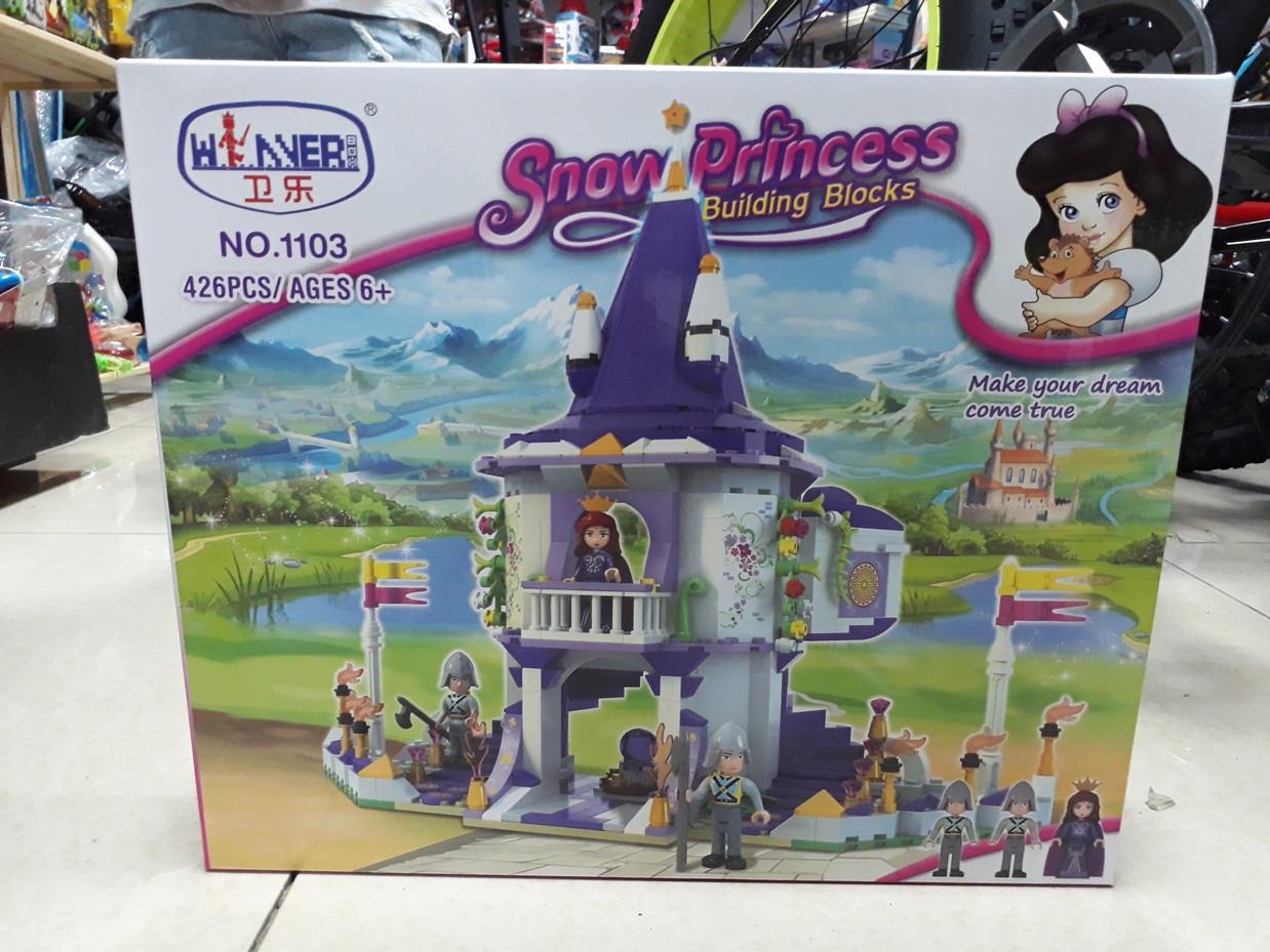 Конструктор Snow Princess 1103 426 pcs. Для девочек.