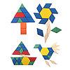 Деревянная геометрическая мозаика - 125 деталей, фото 4