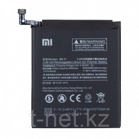 Аккумуляторная батарея Xiaomi Redmi Mi A1/Mi 5x/Redmi 5/Redmi Note 5A/Redmi Note 5A Pro BN31
