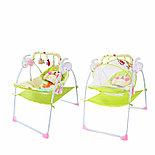Электронные качели, шезлонг Baby Cradle, розовый, фото 2