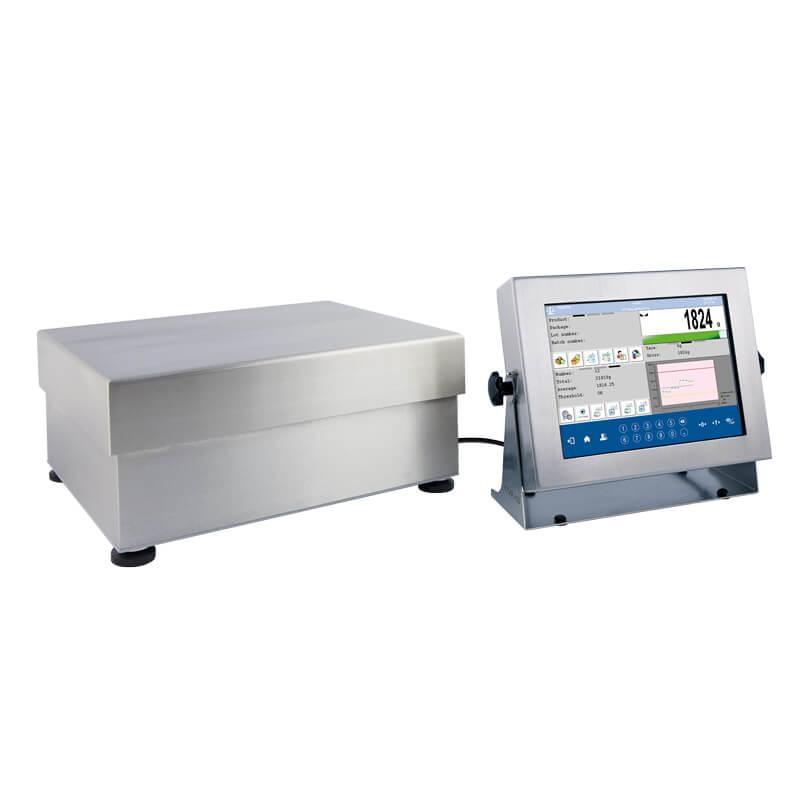 Платформенные высокоточные влагозащищенные весы с внутренней калибровкой HY10.32.HRP.H