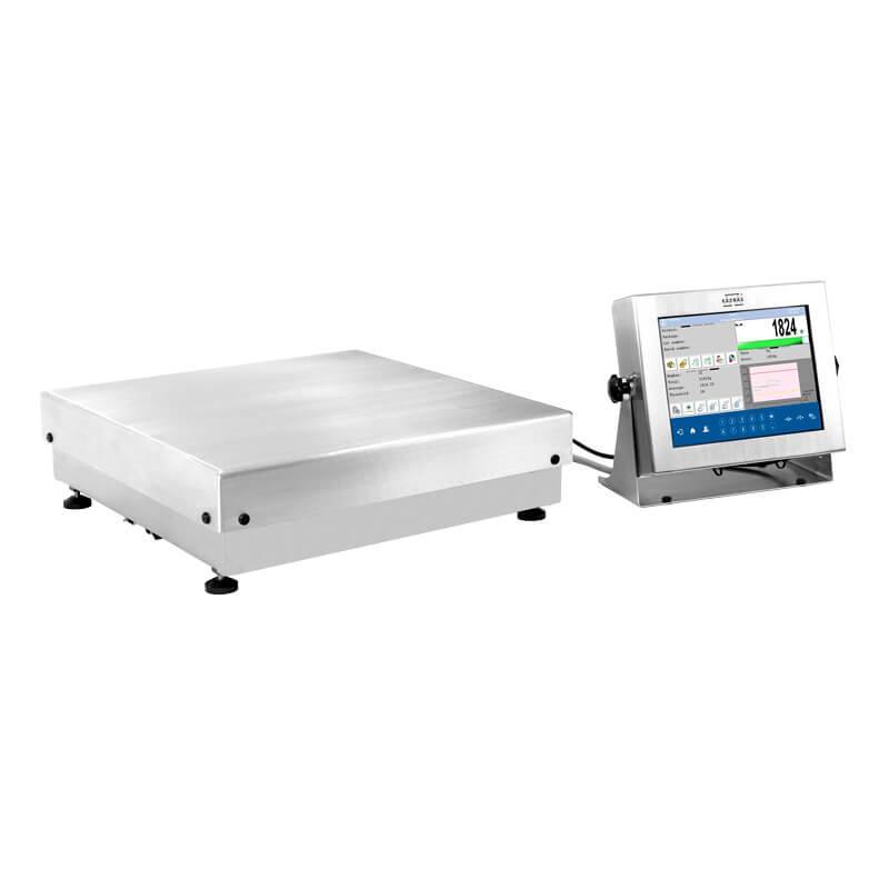 Платформенные высокоточные влагозащищенные весы с внутренней калибровкой HY10.62.HRP.H