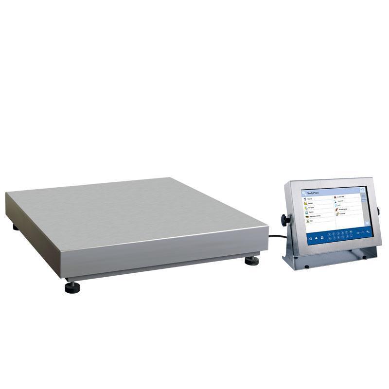 Платформенные высокоточные влагозащищенные весы с внутренней калибровкой HY10.1100.HRP.H