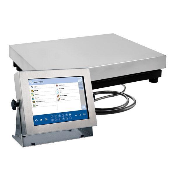Платформенные высокоточные весы с внутренней калибровкой HY10.150.C2.K