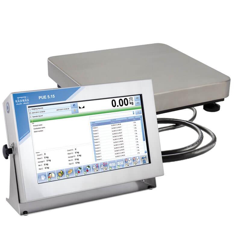 Платформенные высокоточные весы с внутренней калибровкой TMX15R.300.C2.K