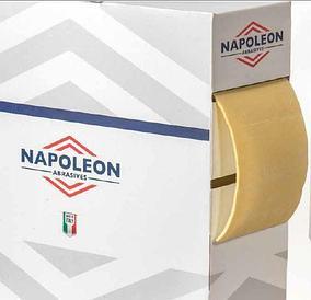 Абразивные материалы на поролоновой основе в рулонах с перфорацией 115х25000 мм Napoleon Abrasives