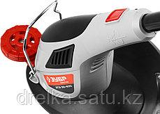 Электрический триммер, электрокоса ЗУБР ЗТЭ-30-500, нижнее расположение двигателя, автомат, поворот, 500 Вт., фото 3