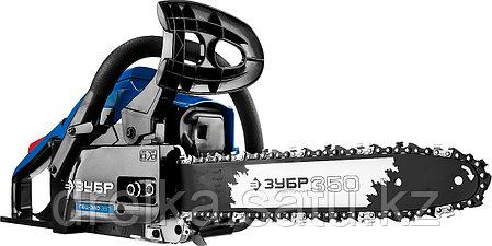 Бензопила ЗУБР ПБЦ-380 35П, ПРОФЕССИОНАЛ, хромированный цилиндр, праймер, 37,2 см3 (1,4 кВт), шина 35 см., фото 2