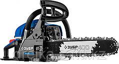 Бензопила ЗУБР ПБЦ-450 40П, ПРОФЕССИОНАЛ, праймер, 45 см3, шина 400 мм.