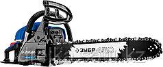 Бензопила ЗУБР ПБЦ-560 45ДП, ПРОФЕССИОНАЛ, хромированный цилиндр, праймер, 56 см3 (2,4 кВт), шина 45 см.