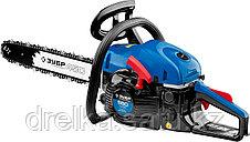 Бензопила ЗУБР ПБЦ-560 45ДП, ПРОФЕССИОНАЛ, хромированный цилиндр, праймер, 56 см3 (2,4 кВт), шина 45 см., фото 3