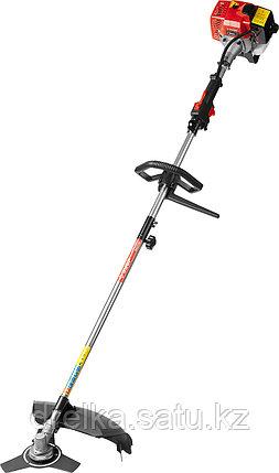 Бензокоса ЗУБР КРБ-250, МАСТЕР, 25 см3 (0,82 л.с. / 0,6 кВт), катушка / нож, ширина кошения 44 / 25,5 см., фото 2
