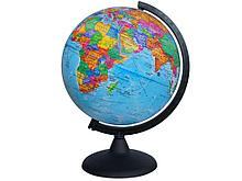 Глобус политический Глобусный мир, 25 см, на круглой подставке