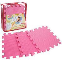 Детские коврики-пазлы Розовые