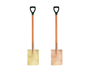 Лопата зачистная искробезопасная 1390 мм.