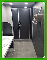 Сантехническая перегородка с дверью из ЛДСП 16 мм, фото 1