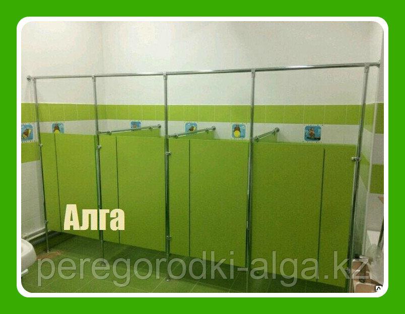 Туалетная кабинка для детского сада из ЛДСП 16 мм