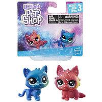 Hasbro Littlest Pet Shop E2128 Литлс Пет Шоп 2 космических пета (в ассортименте), фото 1