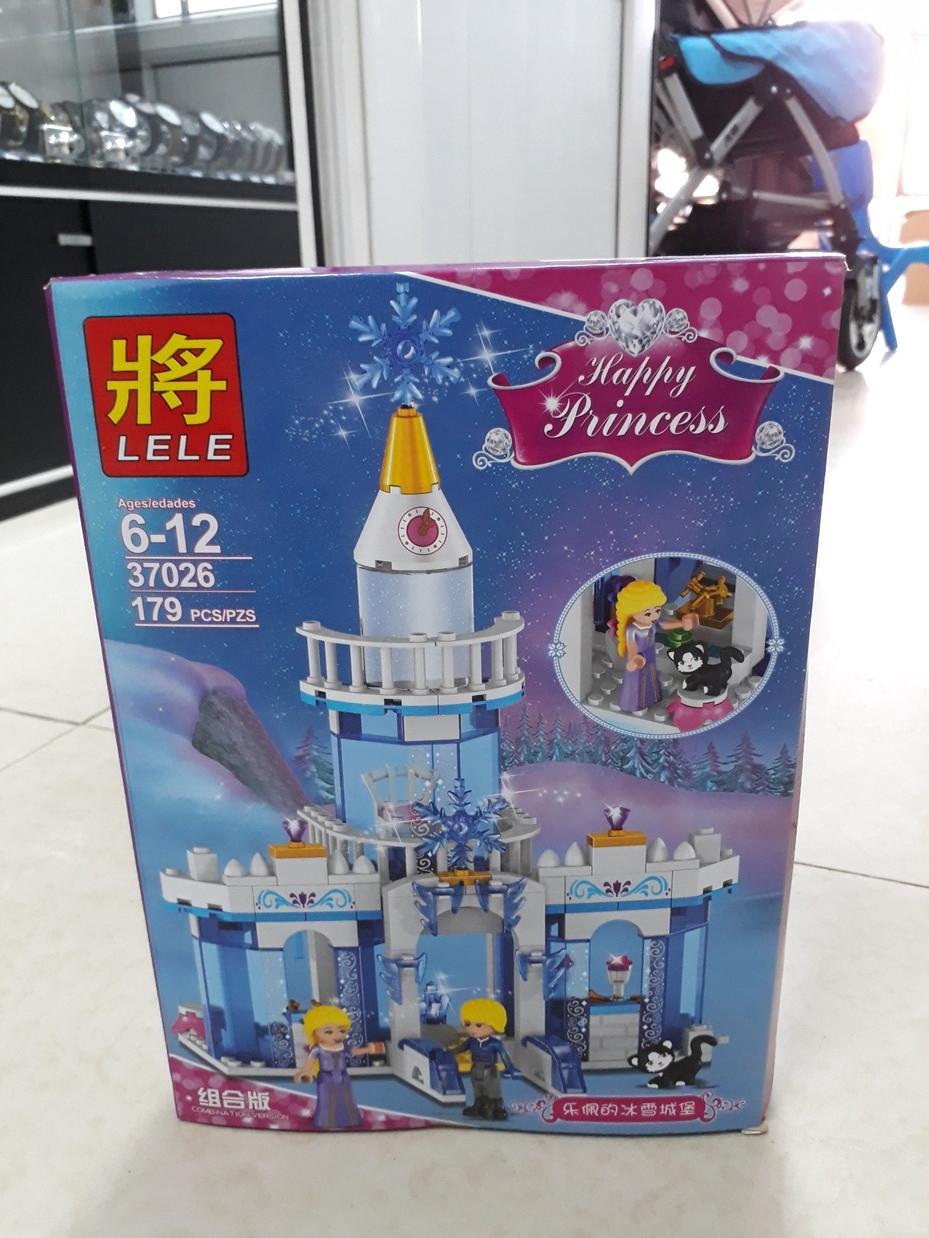 Конструктор Lele Happy Princess 37026 179 pcs. Счастливая принцесса. Для девочек.