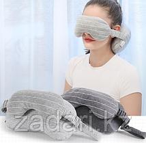 Подголовник с маской для сна