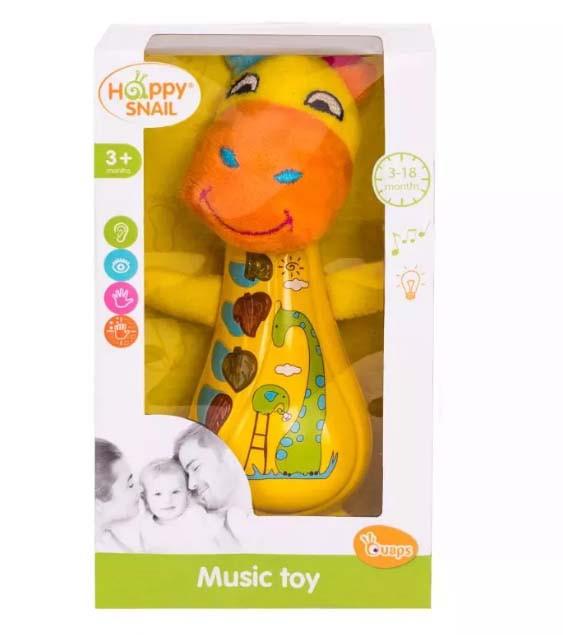 Музыкальная игрушка – Спот, Happy Snail, 17HS03MSP.