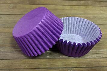 Формы бумажные фиолетовые