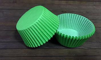 Капсулы бумажные зеленые