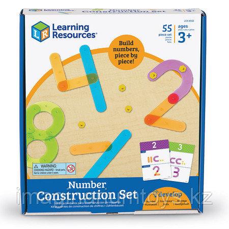 Развивающий набор конструктор «Строим числа» Learning Resources