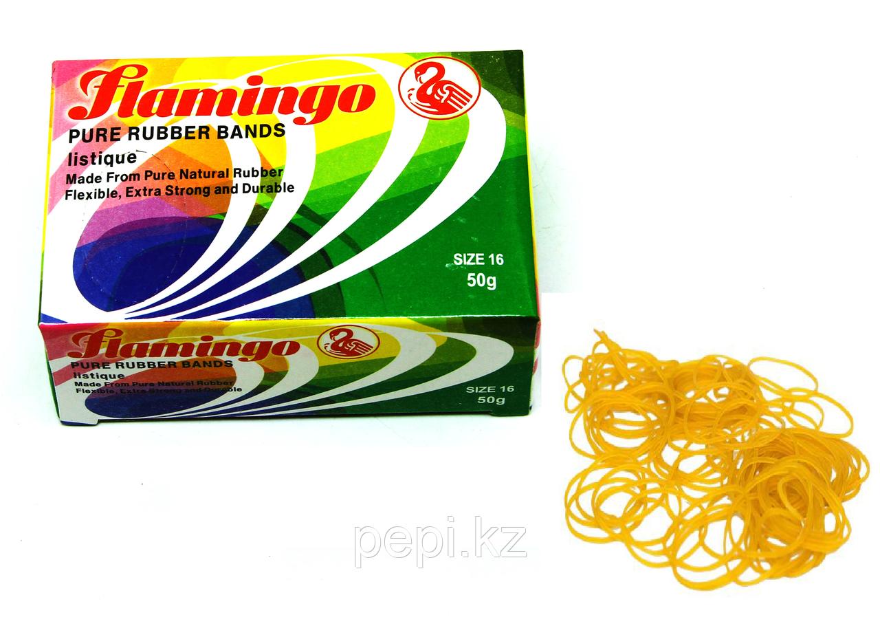 Резинка канцелярская 50гр, Flamingo