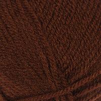 Пряжа 'Baby' 100 акрил 150м/50гр (1182 коричневый) (комплект из 5 шт.)