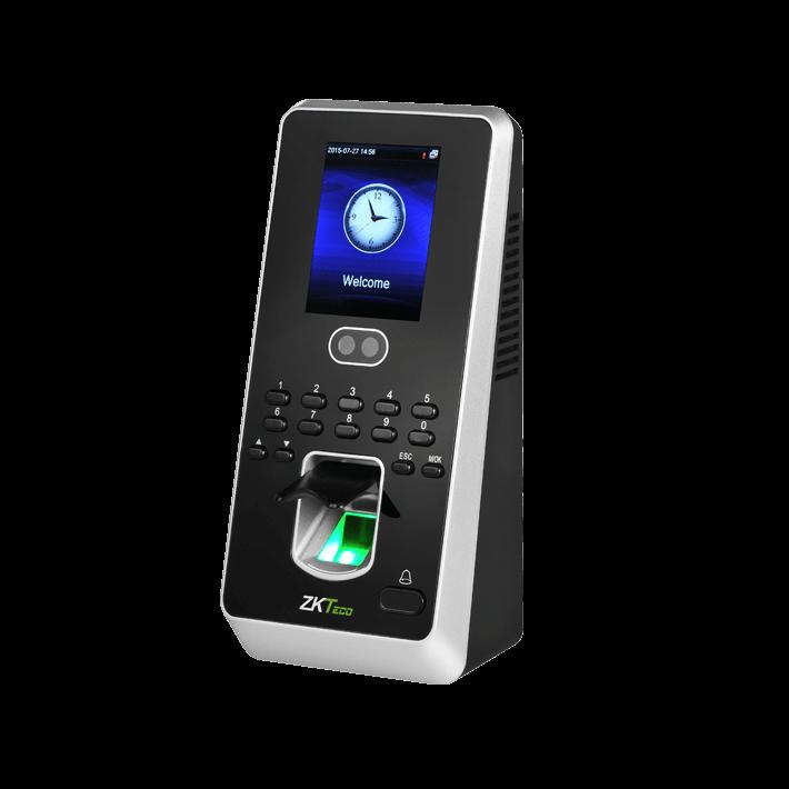 Биометрический терминал и контроллер  ZKTeco MultiBio 800[ID]