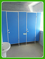 Туалетная кабина для школ и учебных заведений из ЛДСП 16 мм, фото 1