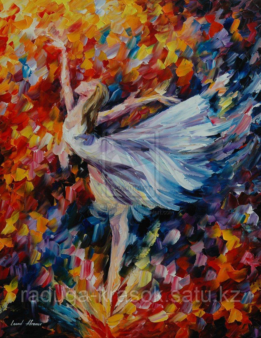"""Картины стразами """"Балерина-2"""" Л.Афремов - 40х50 см"""