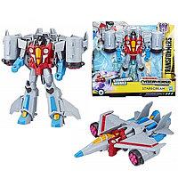 Hasbro Transformers E1886/E1906 Трансформер КИБЕРВСЕЛЕННАЯ 19 см Старскрим, фото 1