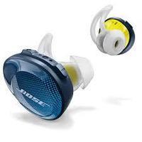 Беспроводные наушники SoundSport Free Bose сине-зеленые