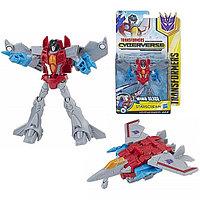 Hasbro Transformers E1884/E1902 Трансформер КИБЕРВСЕЛЕННАЯ 14 см Старскрим, фото 1