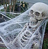 Декоративная марлевая паутина на Хэллоуин Spider webs без пауков  , Алматы, фото 4