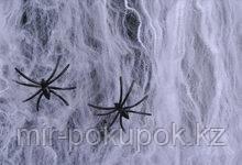 Декоративная марлевая паутина на Хэллоуин Spider webs без пауков  , Алматы