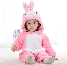 Пижама кигуруми зайка для малышей