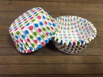 Бумажные капсулы «Разноцветный горох»