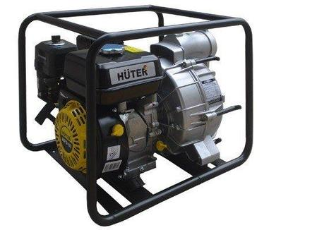 Мотопомпа для грязной воды HUTER MPD-80, фото 2