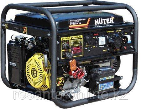 Портативный бензогенератор HUTER DY8000LXA АВР, фото 2